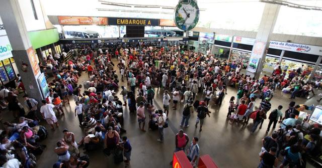 Rodoviária oferece 1.800 horários extras na operação São João 3