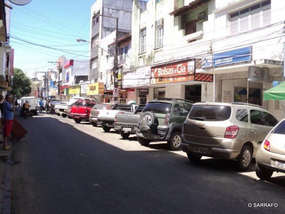 Prefeitura de Ilhéus isola estacionamentos em ruas do centro a partir desta terça-feira (28) 1