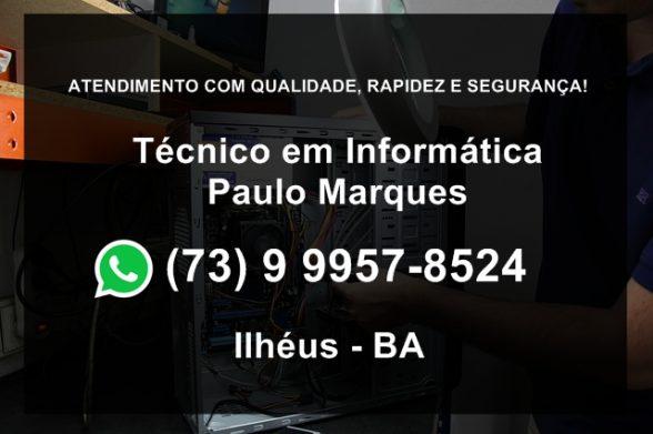 Técnico em informática em Ilhéus