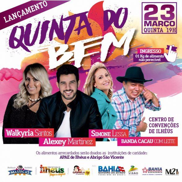 Cartaz Show Quinta do Bem