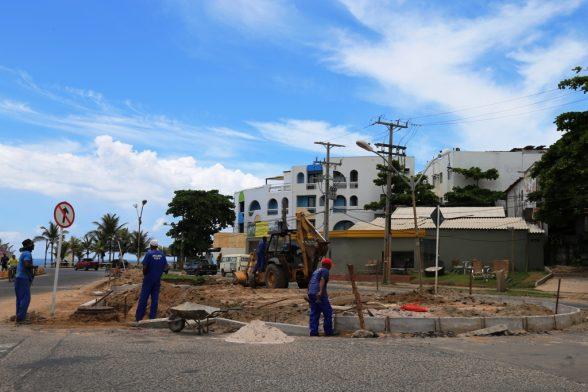 Novo sistema de trãnsito, rod. Ilhéus Olivença . foto Clodoaldo Ribeiro