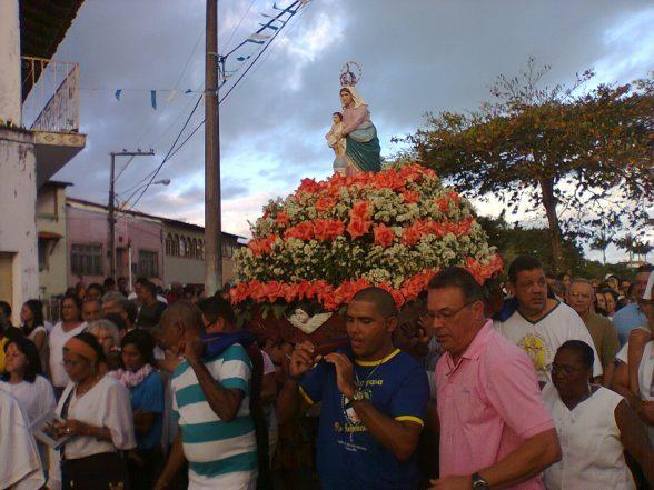 Duas Festas homenageiam à padroeira  de Ilhéus nesta quinta-feira (15) 1
