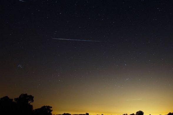 Chuva de meteoros poderá ser vista a olho nu neste fim de semana 3