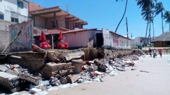 Avanço do mar já destruiu mais de 60% da costa alagoana 2