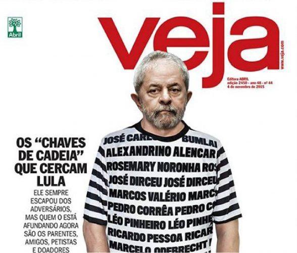 Justiça nega indenização a ex-presidente Lula por capa da revista Veja 4