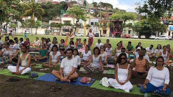 Movimento promove meditação coletiva neste domingo (12), na Avenida Soares Lopes 1