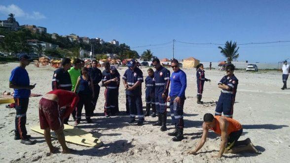 ILHÉUS: Samu treina equipe para atendimento em caso de afogamentos 6