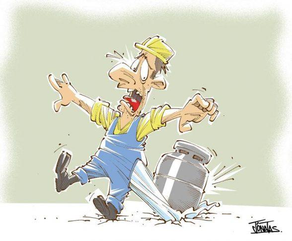 Petrobras aumenta preço do gás de cozinha em 4,5% a partir de domingo 5