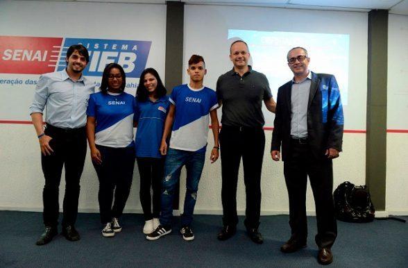 Acordo permite que estudantes do Senai desenvolvam projeto em software de alta tecnologia 5