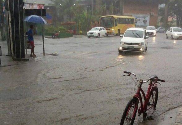 Ilhéus choveu mais de 50 milímetros nas últimas 24 horas 1