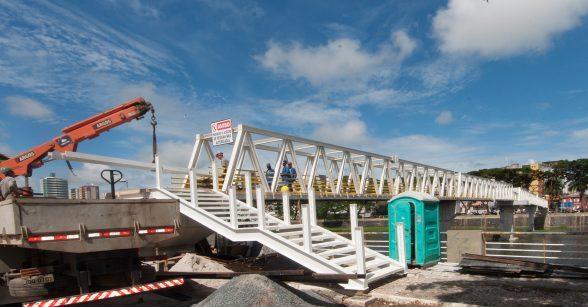 ITABUNA: Prefeito acompanha conclusão das obras da Passarela da Ilha do Jegue 2