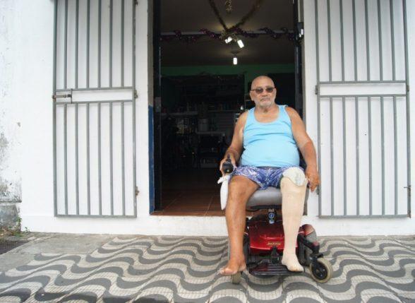 A REVOLTA DO CADEIRANTE MÁRIO MORENO CONTRA O TRANSPORTE COLETIVO DE ILHÉUS 1