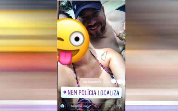 """Foragido da Polícia postou """"nem polícia localiza"""" em Ilhéus, é preso em Goiânia, entenda 3"""