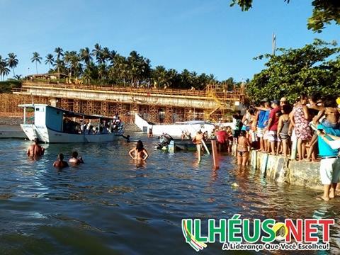 Festa de Yemanjá atrai milhares de pessoas em Ilhéus 1