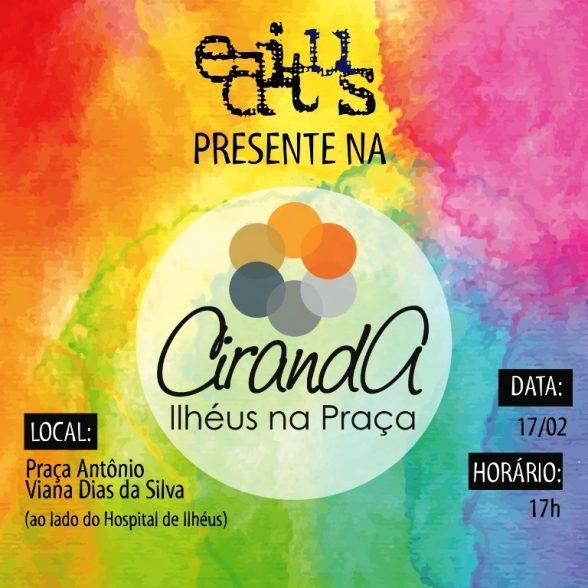 Editus presente no projeto 'Ciranda, Ilhéus na Praça' 3