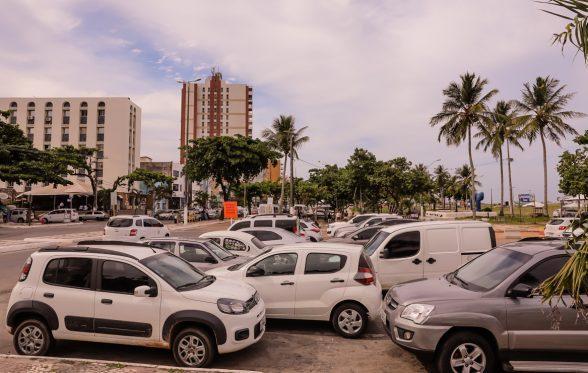 Prefeitura de Ilhéus vai ampliar estacionamento na Av. Soares Lopes, e implantará Zona Azul 3