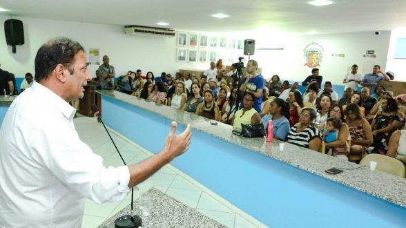 180 servidores do Regional cedidos à Saúde  de Ilhéus recebem acolhimento do prefeito 4