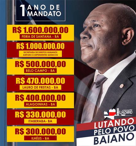 DEM, PSDB e PSC fecham acordo na Bahia para eleições 2018, Lázaro deve lutar por uma cadeira no Senado 4