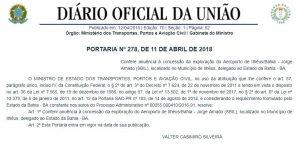 GOVERNO FEDERAL PRIVATIZA AEROPORTO DE ILHÉUS 7