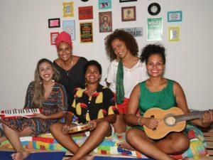 Projeto SambaDELAS, criado pelo Coletivo CEARABUCANAIAR, reúne seis cantoras de Ilhéus 1
