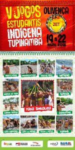 ILHÉUS: Olivença sedia a quinta edição dos Jogos Indígenas Estudantis Tupinambá 2