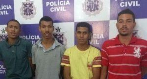 ITABUNA: Suspeitos de assalto e tráfico de drogas são presos 8