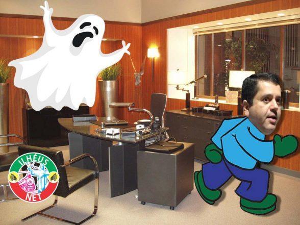 Charge: Gusmão tem medo de Fantasma 6