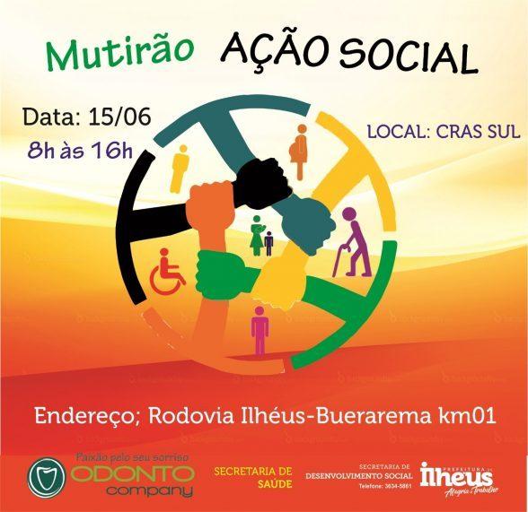 SDS realiza Ação Social no Cras Sul nesta sexta (15) 6