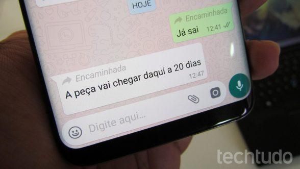 WhatsApp Beta passa a dizer se mensagem é encaminhada 5