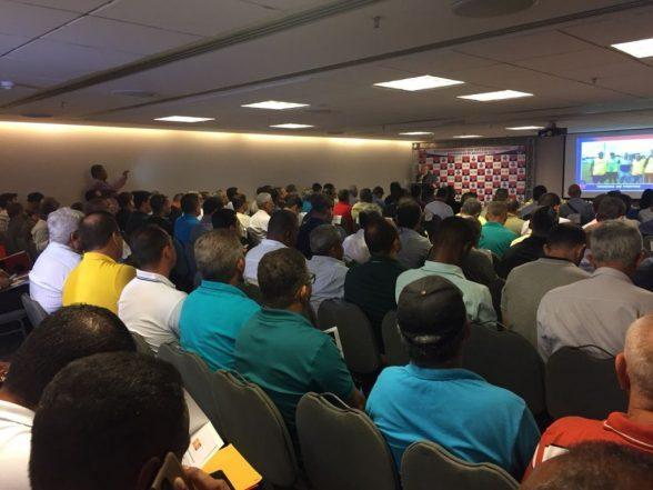 Congresso técnico abre a 61ª edição do Campeonato Intermunicipal 1