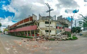 ITABUNA: Após desabamentos, perícia aponta necessidade de demolição de prédio que abrigaria shopping 5