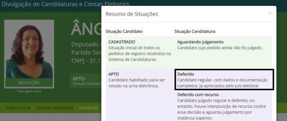 Espalham pelas Redes Sociais Fakenews sobre os votos de Ângela Sousa 2