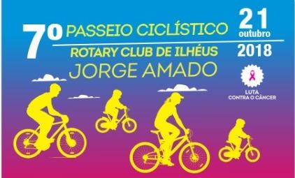 VII Passeio Ciclístico do Rotary Club de Ilhéus Jorge Amado de Combate ao Câncer de Mama! 1