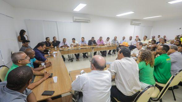 ILHÉUS: Prefeito reúne sindicatos e vereadores para discutir sentença que determina demissão de servidores 3