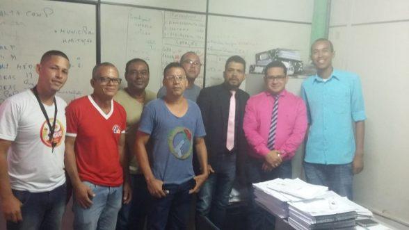 ILHÉUS: Secretário de Administração Bento Lima recebe comissão de Agentes Comunitários de Saúde e Agentes de Combate às Endemias e analisou positivamente toda documentação apresentada 2