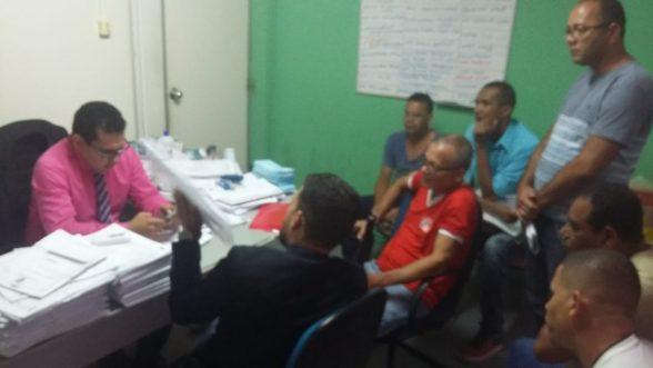 ILHÉUS: Secretário de Administração Bento Lima recebe comissão de Agentes Comunitários de Saúde e Agentes de Combate às Endemias e analisou positivamente toda documentação apresentada 1