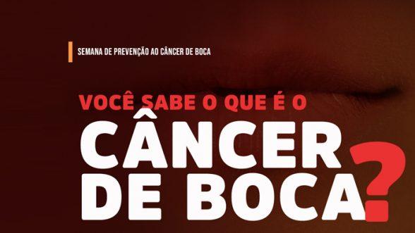 Ministério da Saúde chama atenção para a Semana Nacional de Prevenção do Câncer Bucal 1