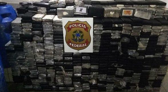PF apreende mais de cinco toneladas de cocaína no Nordeste 1