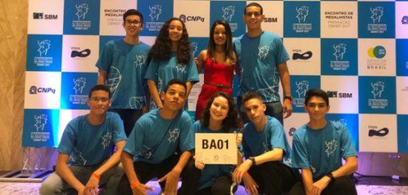 Estudantes da rede estadual conquistam medalhas na Olimpíada Brasileira de Matemática 1