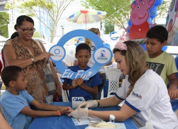 Mutirão para pessoas com diabetes oferece atendimento gratuito em Itabuna 1