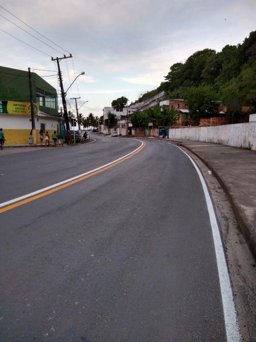 ILHÉUS: Novas faixas pintadas no asfalto confundem; motoristas falam do risco de acidentes 3