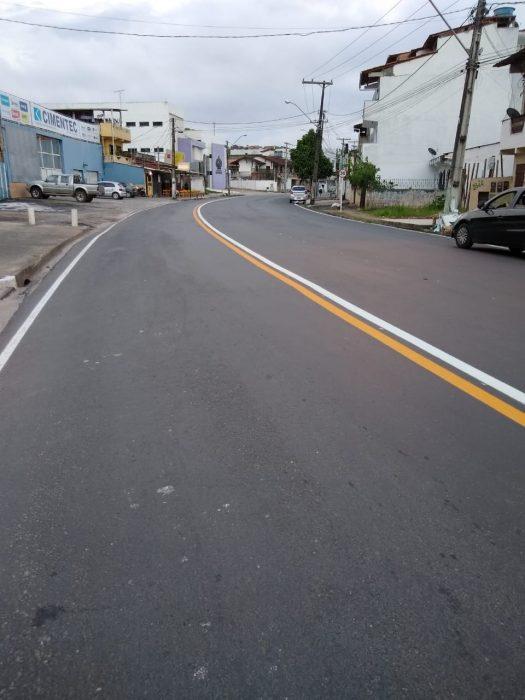 ILHÉUS: Novas faixas pintadas no asfalto confundem; motoristas falam do risco de acidentes 2