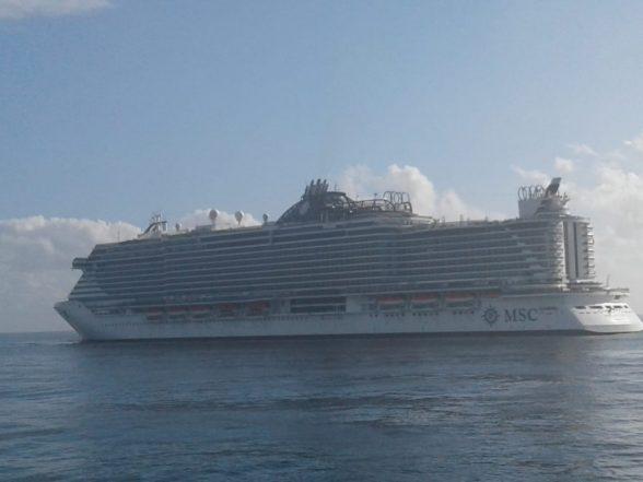 Maior navio de cruzeiros do país atraca em Ilhéus depois de passar por Salvador 3