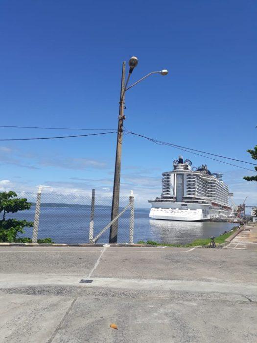 Maior navio de cruzeiros do país atraca em Ilhéus depois de passar por Salvador 1