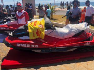 Ilhéus recebe quadriciclo e jet ski do Governo do Estado para reforçar segurança nas praias 1
