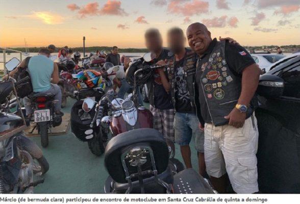 Integrante de motoclube morre em acidente na BR-101; Ilheense ficou ferida 2