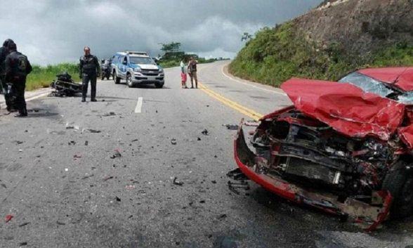 Integrante de motoclube morre em acidente na BR-101; Ilheense ficou ferida 1