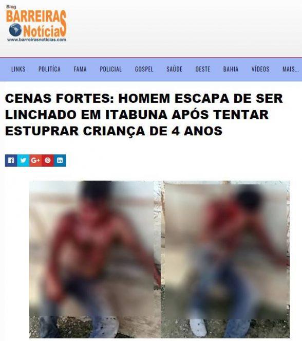 Segurança do Carrefour suspeito de matar cão não foi espancado em Osasco; A imagem é de um site de Itabuna 2