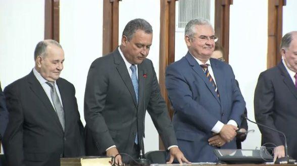 O governador reeleito Rui Costa, do PT, toma posse 1