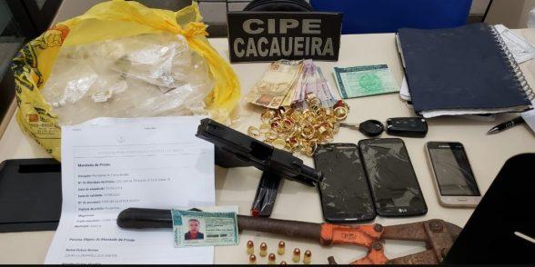 Acusado de vários homicídios é preso em flagrante em Itabuna 1